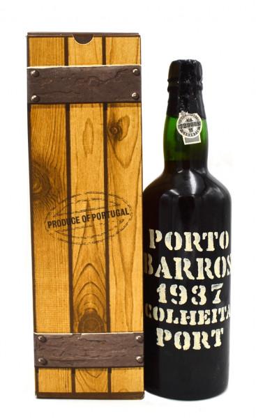 Porto Barros 1937 Colheita Portwein abgefüllt 1979