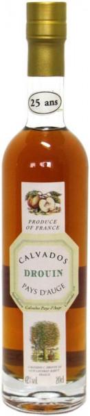 Drouin 25 Jahre Pays D'Auge Calvados (Apfelbrand)