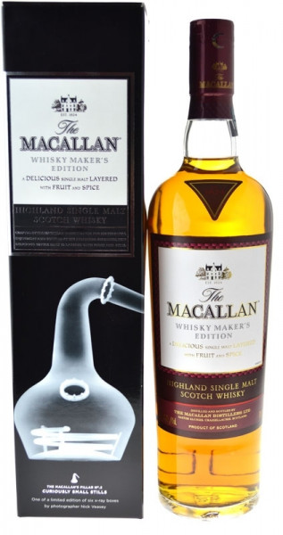 Macallan Maker's Edition No. 2 Curiously Small Stills