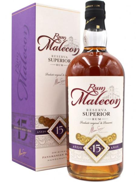 Malecon 15 Jahre Reserva Superior brauner Rum