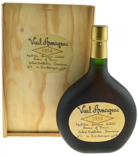 Vieil Armagnac Delord Jahrgang 1954 Bas Armagnac