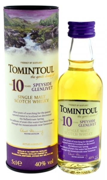 Tomintoul Whisky 10 Jahre Miniatur