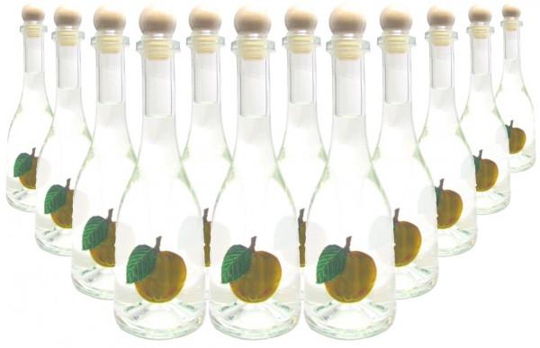 12 Flaschen Prinz Marillenschnaps 0,5l - Spirituose aus Österreich in Rustikaflasche mit Marillen-Fr
