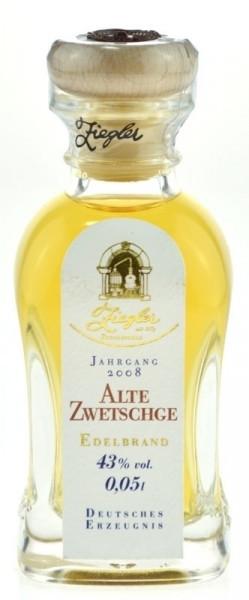 Ziegler Alte Zwetschge Miniatur Jahrgang 2008