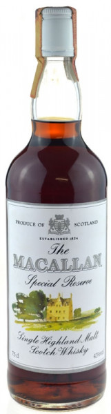 The Macallan Whisky Special Reserve 0,7l - Single Highland Malt Scotch Whisky