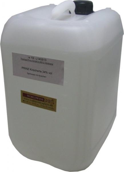 Prinz Kirscherla ( Kirschenschnaps ) 10 Liter Kanister Spirituose aus Österreich