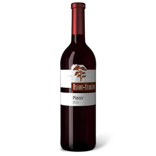 Oster-Franzen Plaisir 0,75l - Rotwein aus Deutschland