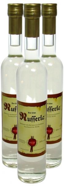 3 Flaschen Prinz Nusserla 0,5l - Nussschnaps von der Feinbrennerei Prinz aus Österreich