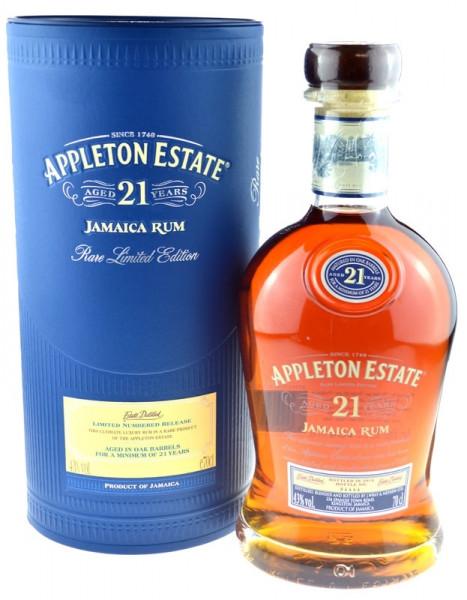 Appleton Estate Rum 21 Jahre 0,7l Rare Limited Edition