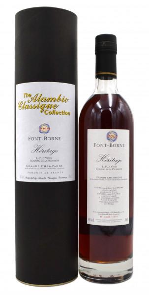 Font-Borne Heritage Cognac Jahrgang 1950 Alambic Classique 0,7l