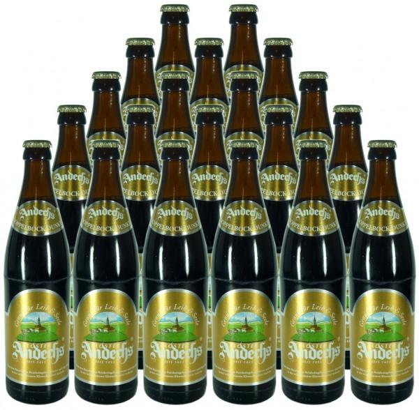 Andechser Doppelbock Dunkel Bier 20x0,5l