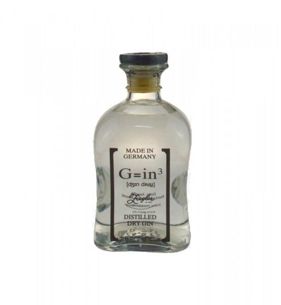 Ziegler G=in³ Classic 0,7l - Dry Gin aus Deutschland