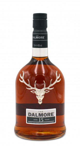Dalmore Whisky 15 Jahre 0,7l mit Geschenkpackung - Highland Single Malt Scotch Whisky