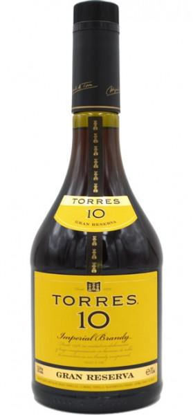 Torres 10 Gran Reserva Imperial Brandy 0.7l