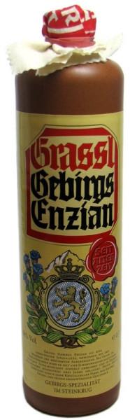 Grassl Gebirgs Enzian Steinkrug