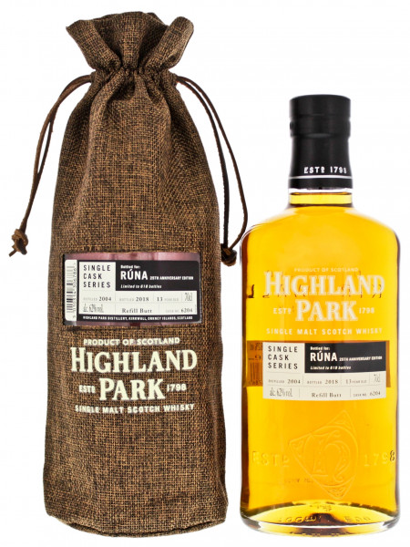 Highland Park Runa Single Cask Series
