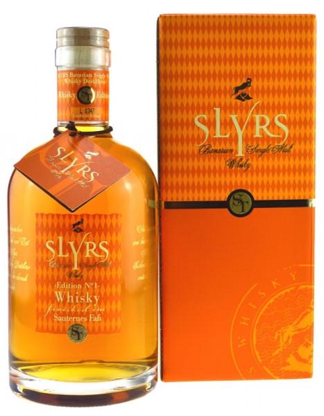 Slyrs Whisky finished Sauternes Faß 0,7l Edition No. 1