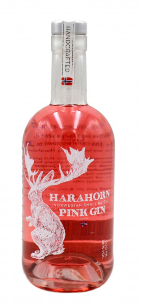 Harahorn Norwegian Small Batch Pink Gin