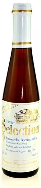 1994er Selection Freinsheimer Goldberg Huxelrebe Beerenauslese 0,375l aus der Pfalz