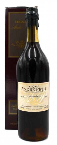 Andre Petit Cognac Jahrgang 1970 Alambic Classique