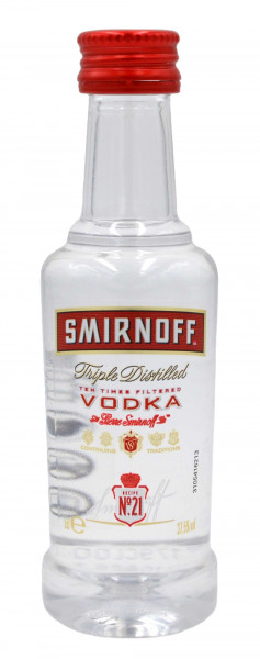 Smirnoff Vodka Red Label No.21Miniatur