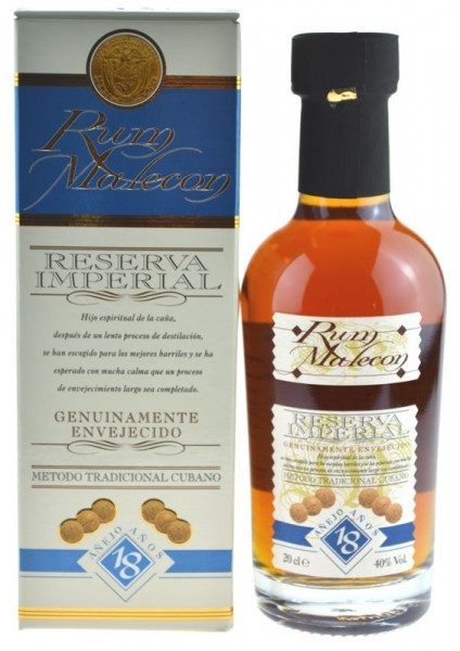 Malecon Reserva Imperial Rum 18 Jahre