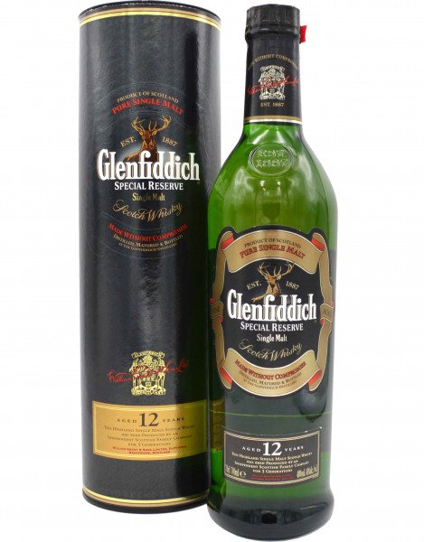 Glenfiddich Whisky 12 Jahre Special Reserve - 0,7l