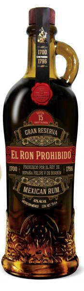 El Ron Prohibido Reserva Solera Rum 15 Jahre
