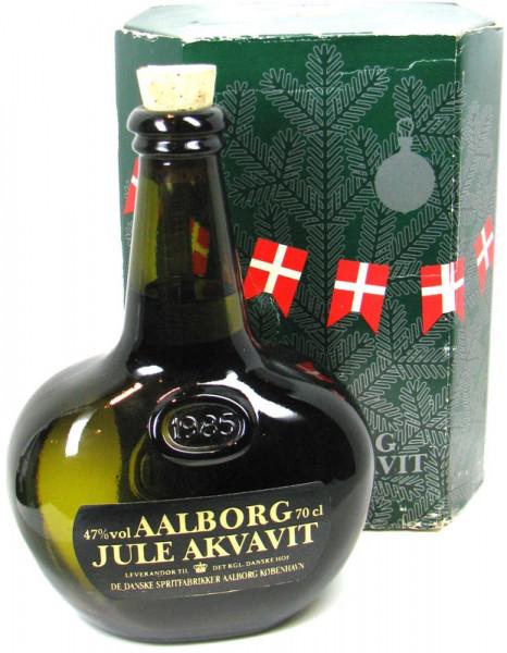 Aalborg Jule Akvavit Jahrgang 1985 limitierte Sonderabfüllung