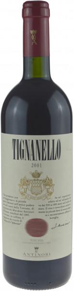 Tignanello Antinori IGT Jahrgang 2001 Rotwein