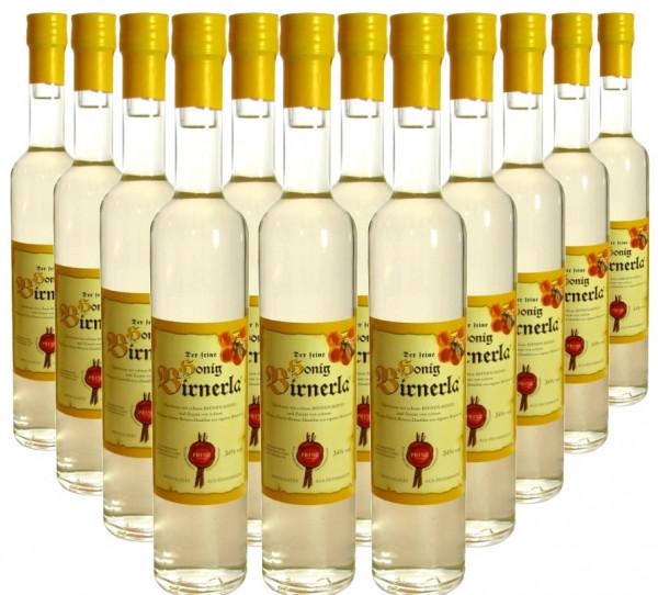 18 Flaschen Prinz Honig Birnerla ( Birnenschnaps mit Honig ) 0,5l - aus Österreich - 3,8% Rabatt