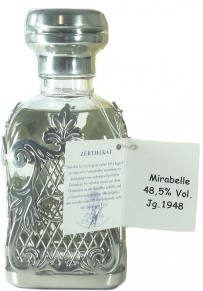 Rarität: Ziegler Mirabelle Jahrgang 1948 0,35l mit 48,5% vol. mit Holzkiste - Edelbrand aus Deutschl