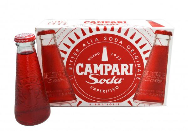 Campari Soda 5x0,1l