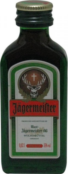 Jägermeister Miniatur Kräuterlikör