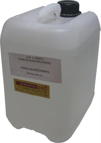 Prinz Hausschnaps Marille 5 Liter Kanister Schnaps aus Österreich