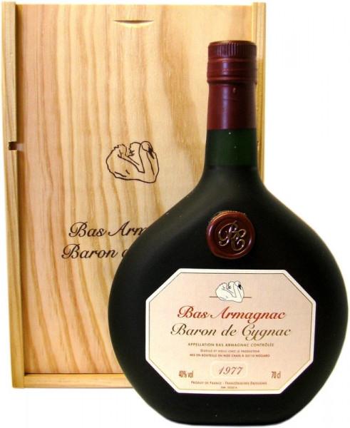 Armagnac Baron de Cygnac Jahrgang 1977