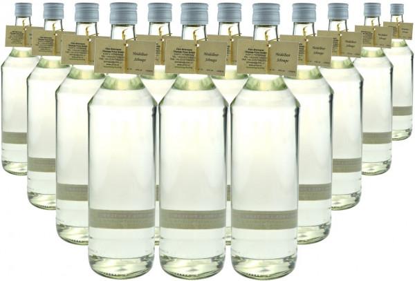 12 Flaschen Prinz Heidelbeer Schnaps 1,0l Spirituose aus Österreich - 4,9% Rabatt