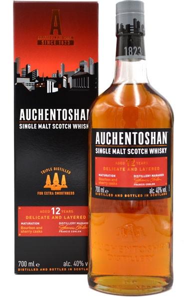 Auchentoshan Single Malt Scotch Whisky 12 Jahre 0,7l incl. Geschenkpackung