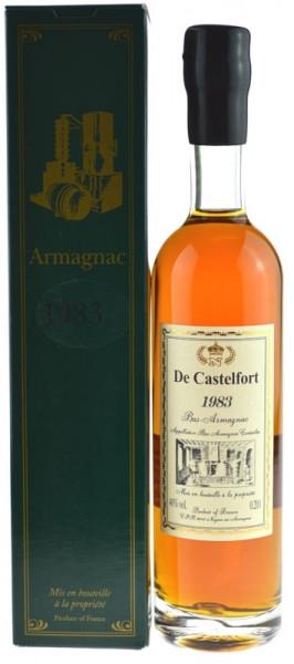 De Castelfort Armagnac Jahrgang 1983 - abgefüllt 2014 - 30 Jahre im Fass gelagert