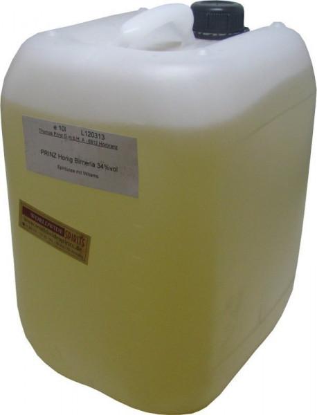 Prinz Honig Birnerla ( Birnenschnaps mit Honig ) 10 Liter Kanister Spirituose aus Österreich