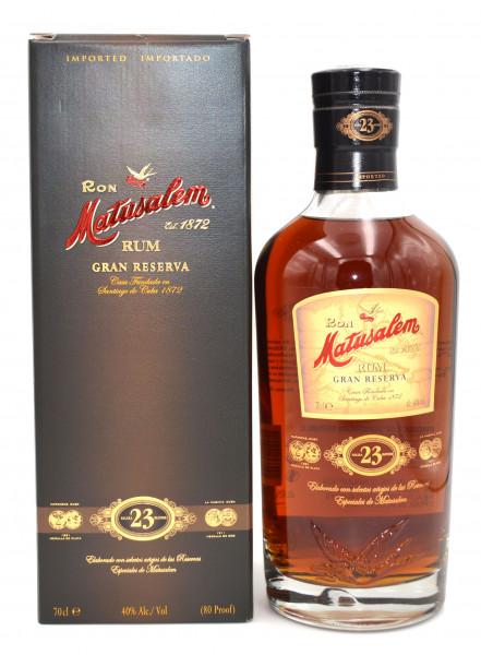 Ron Matusalem Rum Gran Reserva 23 Jahre Solera