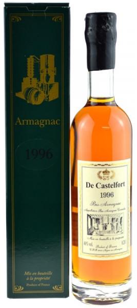 Armagnac De Castelfort 0,2l Jahrgang 1996 inklusive Geschenkkarton