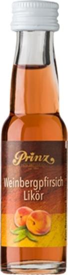 Prinz Weinberg-Pfirsich-Likör 0,02l Miniatur aus Österreich