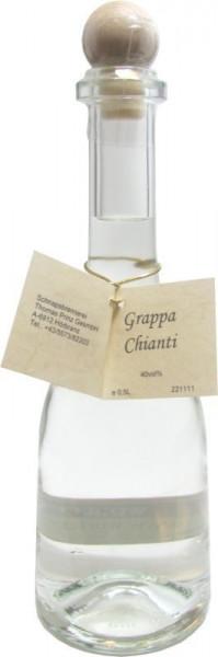 Grappa Chianti 0,5l in Rustikaflasche - Abfüller Prinz