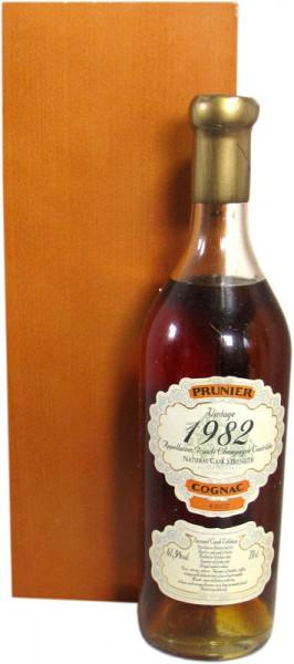 Prunier Cognac Jahrgang 1982 Second Cask