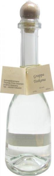 Grappa Toscana 0,5l in Rustikaflasche - Abfüller Prinz