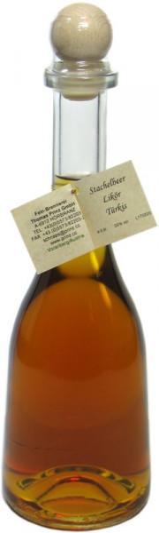 Prinz Stachelbeer-Likör in Rustikaflasche