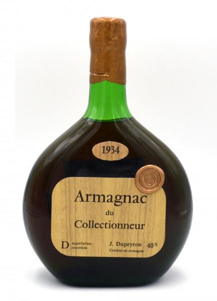 Armagnac du Collectionneur Jahrgang 1934 J.Dupeyron