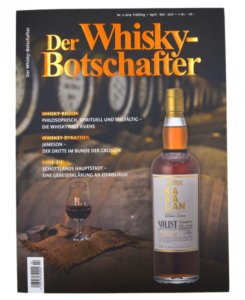 Der Whisky-Botschafter Heft 2019/2 (Frühling)