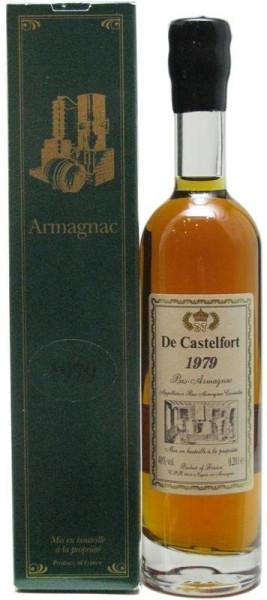 Armagnac De Castelfort Jahrgang 1979 - 0,2l incl. Geschenkkarton